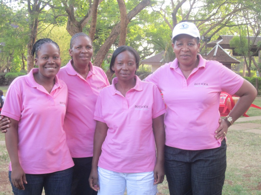 Teachers from Mochudi Botswana